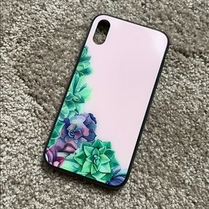 Succulent phone case for iPhone XR